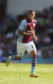 Ryan Bertrand of Aston Villa in action during the Barclays Premier League match between Aston Villa and Hull City at Villa Park on May 3 2014 in...