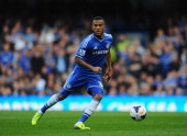 Ryan Bertrand of Chelsea in action during the Barclays Premier League match between Chelsea and Cardiff City at Stamford Bridge on October 19 2013 in...