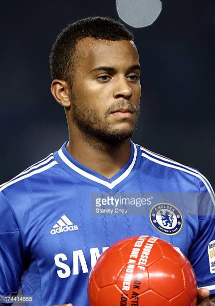 Ryan Bertrand of Chelsea poses before the match between Chelsea and Indonesia AllStars at Gelora Bung Karno Stadium on July 25 2013 in Jakarta...