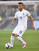 Ryan Bertrand of England in action during the international friendly match beteween Italy and England on March 31 2015 in Turin Italy