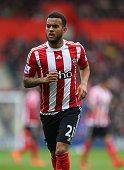 Ryan Bertrand of Southampton during the Barclays Premier League match between Southampton and Liverpool on March 20 2016 in Southampton United Kingdom