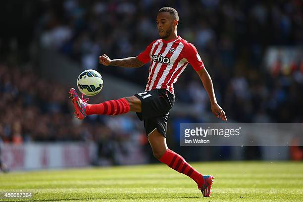 Ryan Bertrand of Southampton in action during the Barclays Premier League match between Tottenham Hotspur and Southampton at White Hart Lane on...