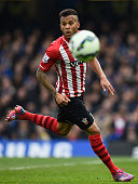 Ryan Bertrand of Southampton in action during the Barclays Premier League match between Chelsea and Southampton at Stamford Bridge on March 15 2015...