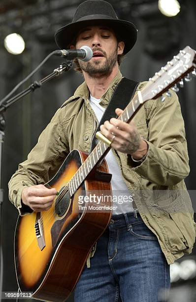 Ryan Bingham performs as part of Day 4 of the Sasquatch Music Festival at the Gorge Amphitheatre on May 27 2013 in George Washington