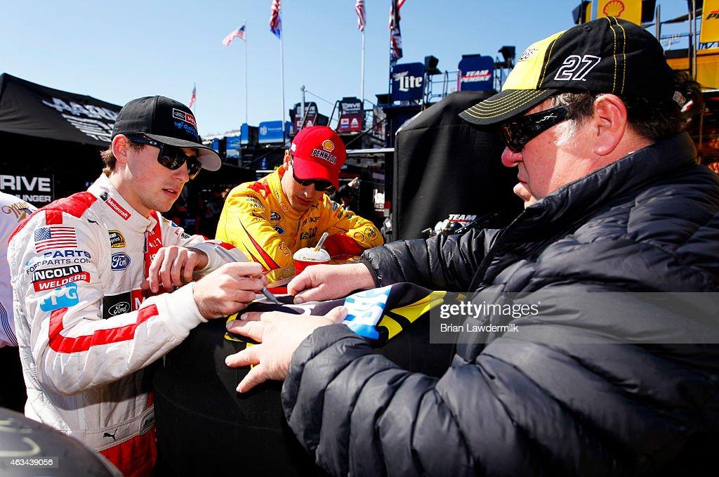 Daytona International Speedway Day 2 Getty Images