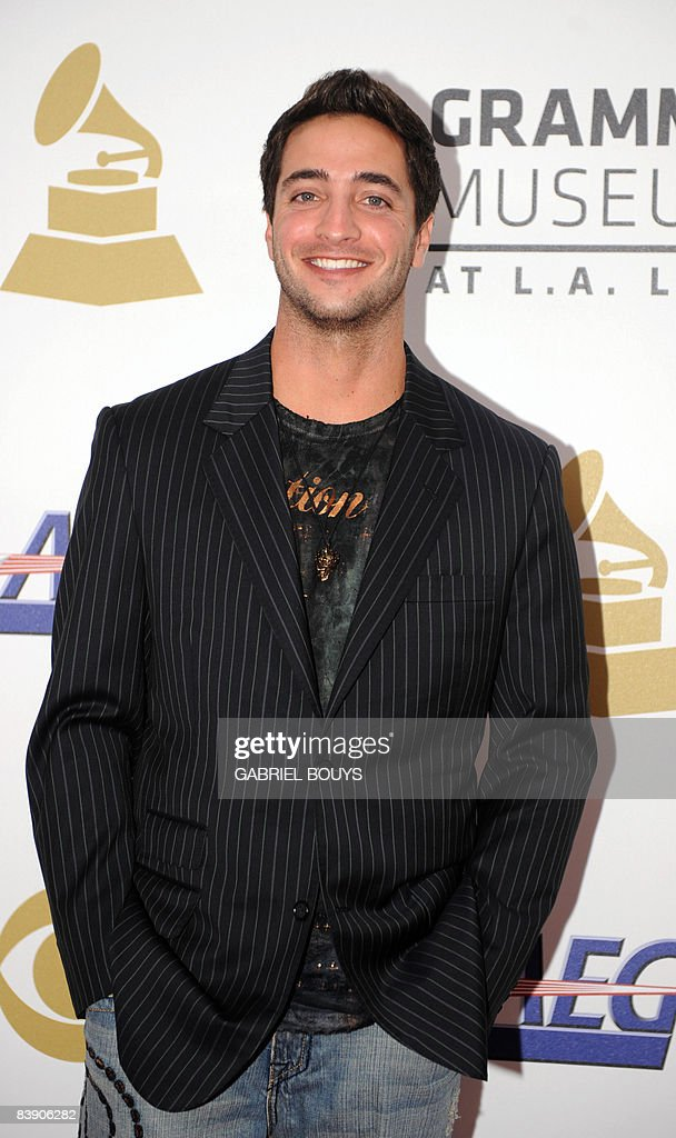 Ryan Braun arrives at the Nokia Theater in downtown Los Angeles, December 3, 2008, to attend the announcement of nominations for the 51st Annual Grammy Awards.