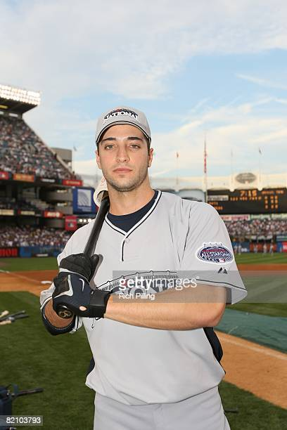 Ryan Braun of the Milwaukee Brewers prepares to hit during the State Farm Home Run Derby at the Yankee Stadium in the Bronx New York on July 14 2008