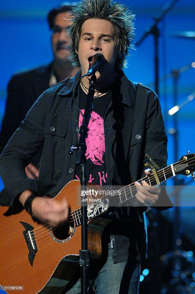 <a gi-track='captionPersonalityLinkClicked' href=/galleries/search?phrase=Ryan+Cabrera&family=editorial&specificpeople=201482 ng-click='$event.stopPropagation()'>Ryan Cabrera</a> during 'America's Top 40 Live' with Ryan Seacrest at CBS Studios Stage 46 in Los Angeles, California, United States.