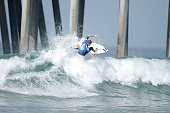 Ryan Callinan of Australia surfs during his Round 4 Heat at the Vans US Open of Surfing on August 1 2015 in Huntington Beach California
