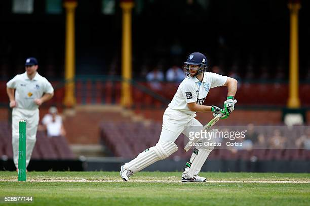 Ryan Carters from New South Wales batting against Victoria during the Sheffield Shield match between New South Wales and Victoria at the Sydney...