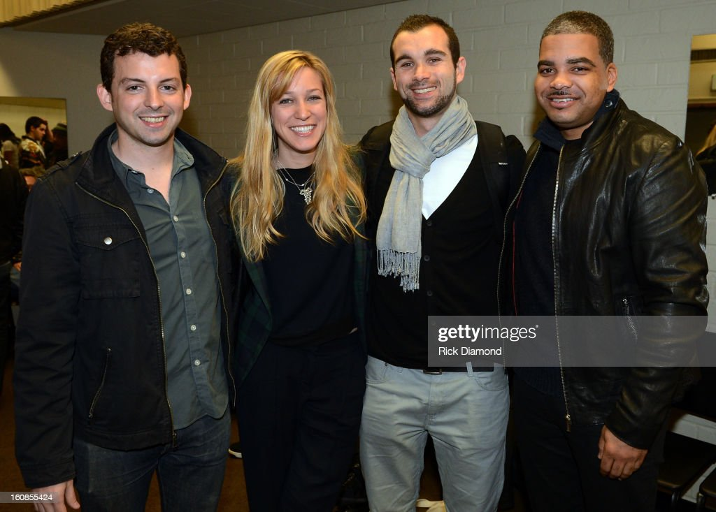 Ryan Chisholm, Avital Ferd, Rob Bonstein and Larry Wade attend The 55th Annual GRAMMY Awards - GRAMMY Camp Basic Training held on the campus of USC - Booth Ramos Hall on February 6, 2013