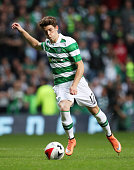 Ryan Christie of Celtic controls the ball during the Pre Season Friendly match between Celtic and Leicester City at Celtic Park Stadium on July 23...