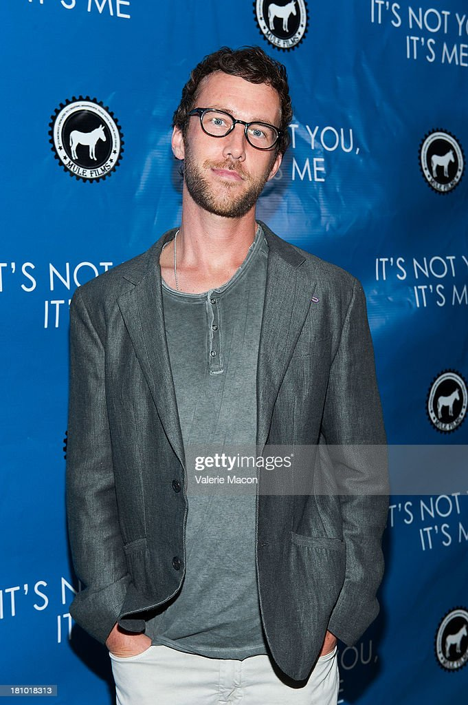 Ryan Churchill arrives at the premiere of 'It's Not You, It's Me' at Downtown Independent Theatre on September 18, 2013 in Los Angeles, California.