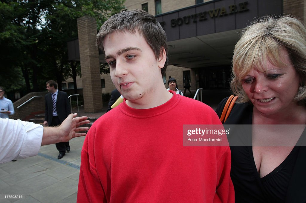 Ryan Cleary (L) is lead from Southwark Crown Court by his solicitor KAren Todner on June 27, 2011 in London, England. Mr Cleary is charged with hacking into the website of the United Kingdom's Serious Organised Crime Agency as part of a Scotland Yard and FBI investigation into online hacking group LulzSec.