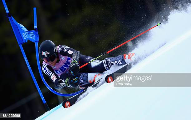 Ryan CochranSiegle of the United States competes in the first run of the Birds of Prey World Cup Giant Slalom race on December 3 2017 in Beaver Creek...