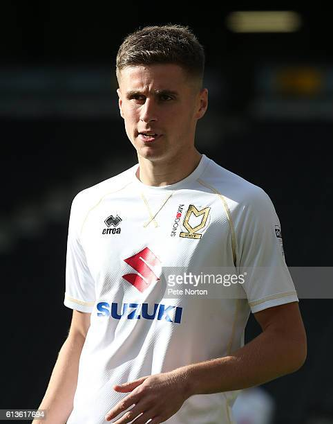 Ryan Colclough of Milton Keynes Dons in action during the Sky Bet League One match between Milton Keynes Dons and Port Vale at StadiumMK on October 9...