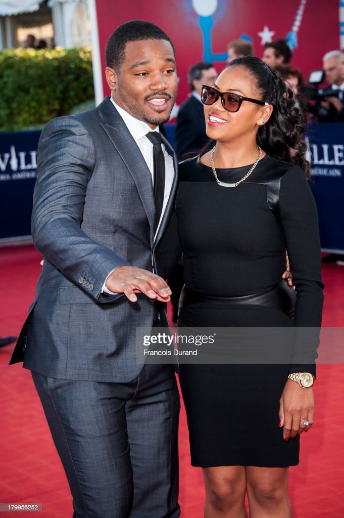 <a gi-track='captionPersonalityLinkClicked' href=/galleries/search?phrase=Ryan+Coogler&family=editorial&specificpeople=7316581 ng-click='$event.stopPropagation()'>Ryan Coogler</a> and his wife arrive at the 'Snowpierce' Premiere and closing ceremony of the 39th Deauville American Film Festival on September 7, 2013 in Deauville, France.