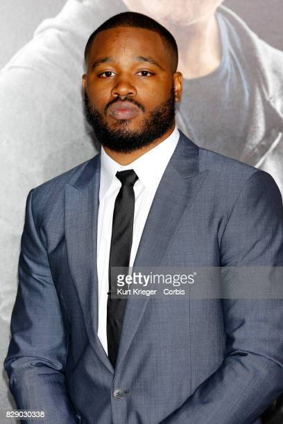 Image has been digitally retouched Ryan Coogler arrives at the 'Creed' world premiere in Los Angeles CA on November 19 2015