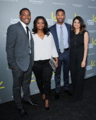Ryan Coogler Octavia Spencer Michael B Jordan and Melonie Diaz attend the 3rd annual Celebrate Sundance Institute Los Angeles benefit at The Lot on...