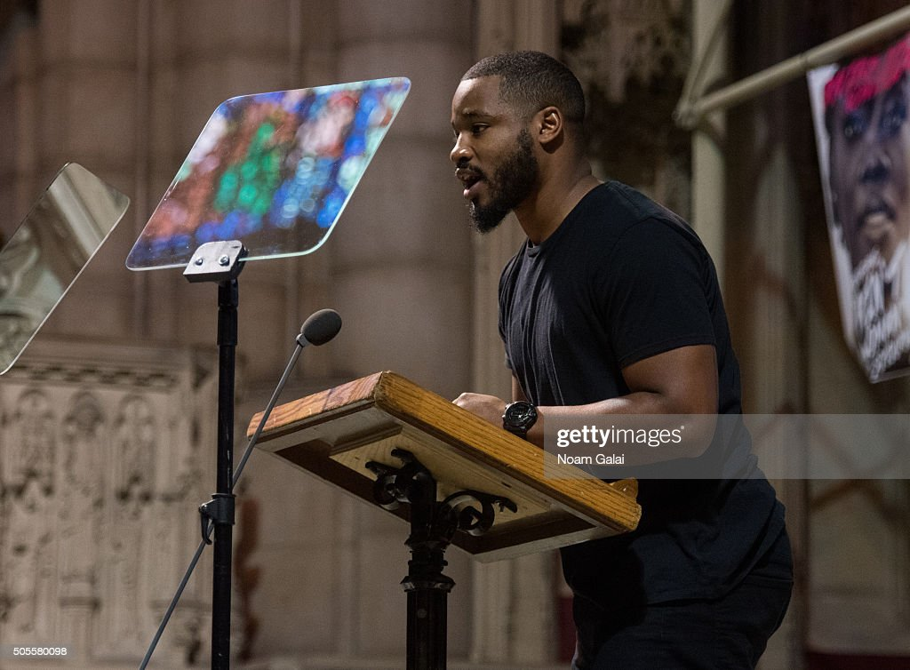 <a gi-track='captionPersonalityLinkClicked' href=/galleries/search?phrase=Ryan+Coogler&family=editorial&specificpeople=7316581 ng-click='$event.stopPropagation()'>Ryan Coogler</a> speaks at the 2016 MLK Now at Riverside Church on January 18, 2016 in New York City.