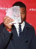 Ryan Coogler winner of the Grand Jury Prize US Dramatic for Fruitvale poses with award at the Awards Night Ceremony during the 2013 Sundance Film...