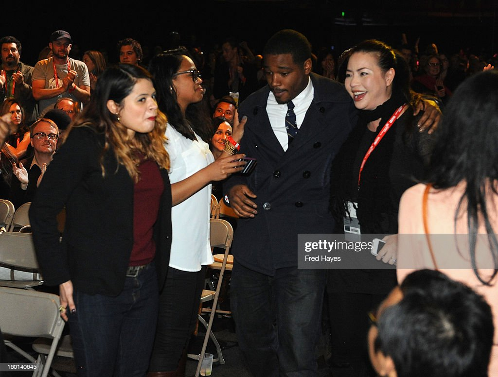 Ryan Coogler winner of the Grand Jury Prize: U.S. Dramatic for Fruitvale walks to the stage during the Awards Night Ceremony during the 2013 Sundance Film Festival at Basin Recreation Field House on January 26, 2013 in Park City, Utah.