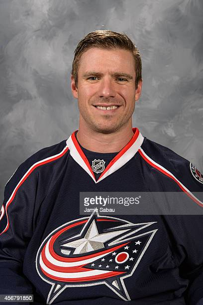 Ryan Craig of the Columbus Blue Jackets poses for his official headshot for the 20142015 season on September 18 2014 at the Nationwide Arena in...