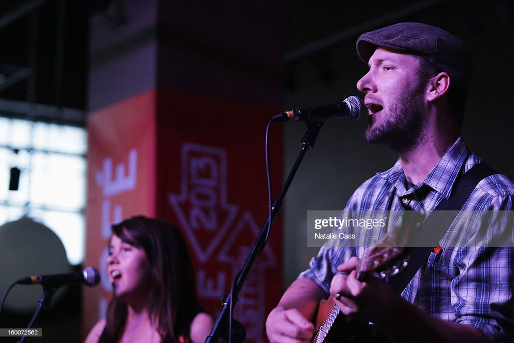 Ryan Cron of Bullets and Belles performs onstage at the ASCAP Music Cafe Day 8 during the 2013 Sundance Film Festival at Sundance ASCAP Music Cafe on January 25, 2013 in Park City, Utah.