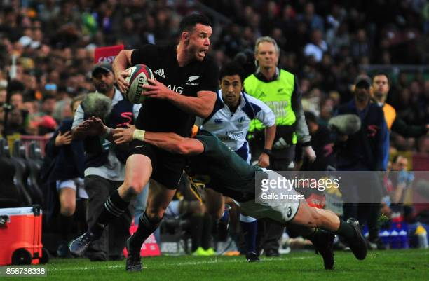 Ryan Crotty of New Zealand during the Rugby Championship 2017 match between South Africa and New Zealand at DHL Newlands on October 07 2017 in Cape...