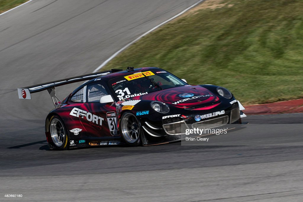 GT race at Mid-Ohio Sports Car Course on August 1, 2015 in Lexington ...