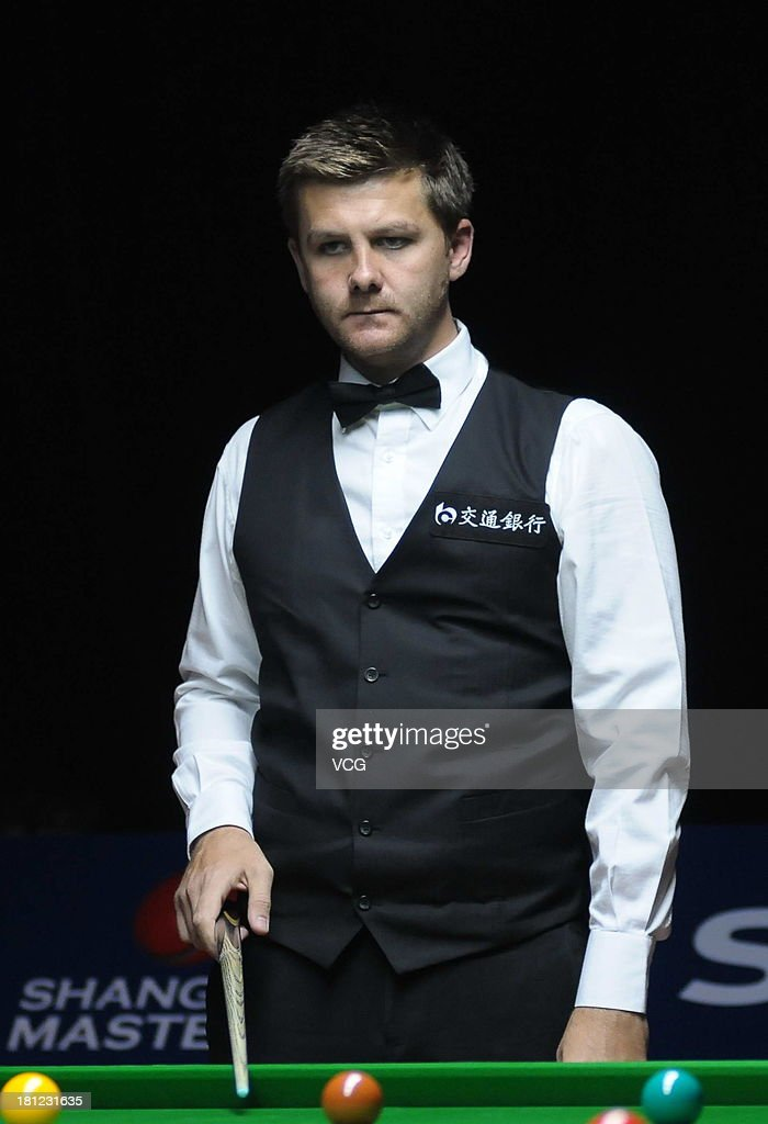 Ryan Day of Wales looks on in the match against Barry Hawkins of England on day four of the 2013 World Snooker Shanghai Master at Shanghai Grand Stage on September 19, 2013 in Shanghai, China.