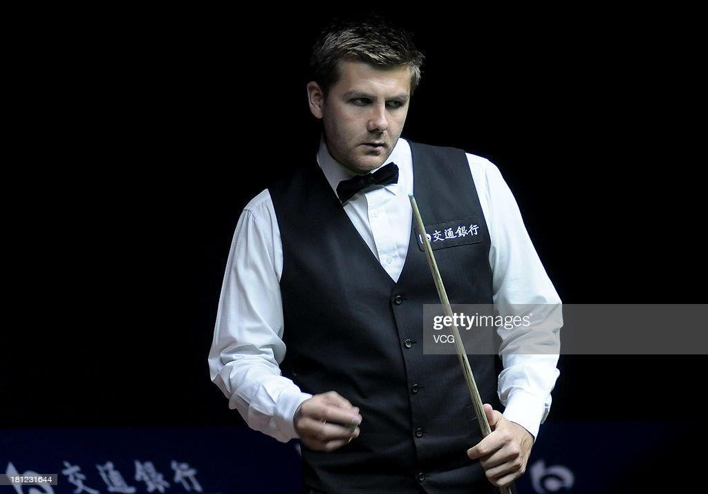 <a gi-track='captionPersonalityLinkClicked' href=/galleries/search?phrase=Ryan+Day&family=editorial&specificpeople=672732 ng-click='$event.stopPropagation()'>Ryan Day</a> of Wales looks on in the match against Barry Hawkins of England on day four of the 2013 World Snooker Shanghai Master at Shanghai Grand Stage on September 19, 2013 in Shanghai, China.