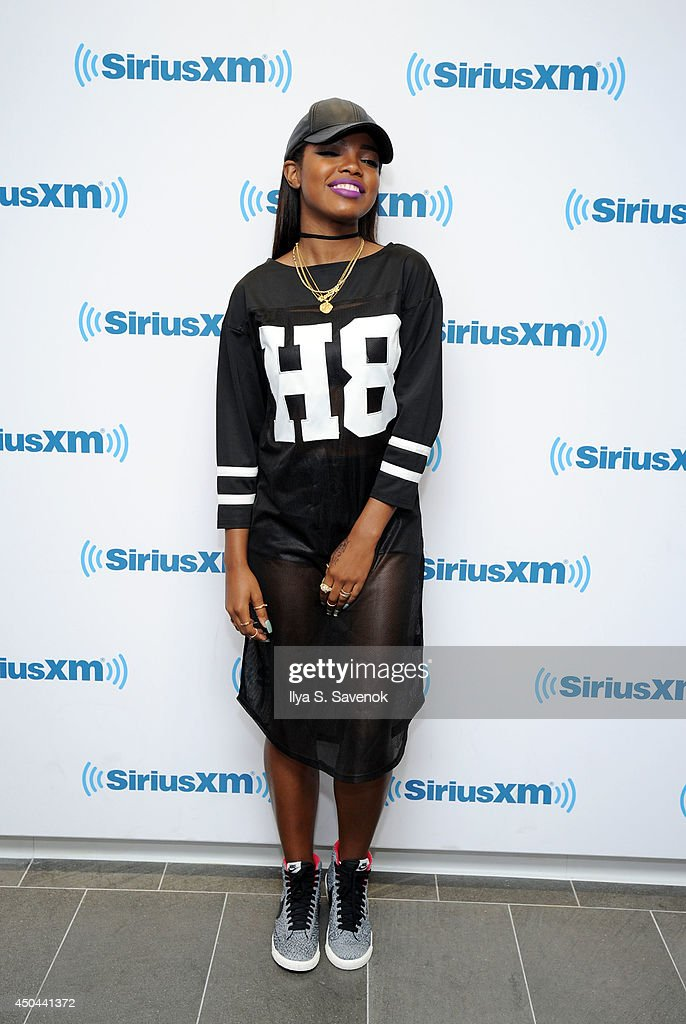 Ryan Destiny of the group Love Dollhouse visits the SiriusXM Studios on June 11, 2014 in New York City.