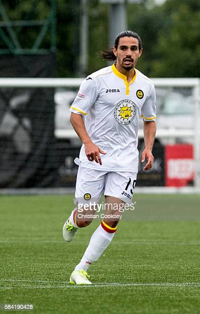Ryan Edwards of Partick Thistle at Ochilview Park on July 26 2016 in Falkirk Scotland