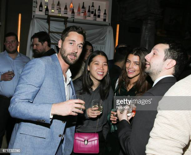 Ryan Eggold and guests attend the 2017 Tribeca Film Festival afterparty for 'Literally Right Before Aaron' sponsored by Chloe Wine Collection and...
