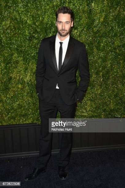 Ryan Eggold attends the CHANEL Tribeca Film Festival Artists Dinner at Balthazar on April 24 2017 in New York City