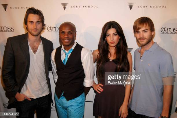 Ryan Eggold Nathan Lee Graham Tanya Ramone and David Gallagher attend ROSS SCHOOL'S 6th Annual Club Starlight Benefit at The Ross School on June 20...