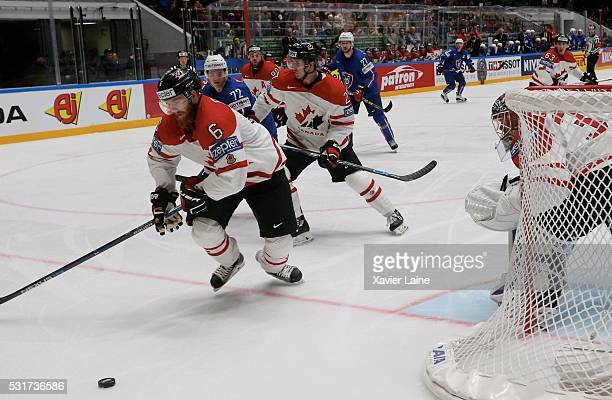 Ryan Ellis of Canada during the 2016 IIHF World Championship between France and Canada at Yubileyny Sports Palace on May 16 2016 in Saint Petersburg...