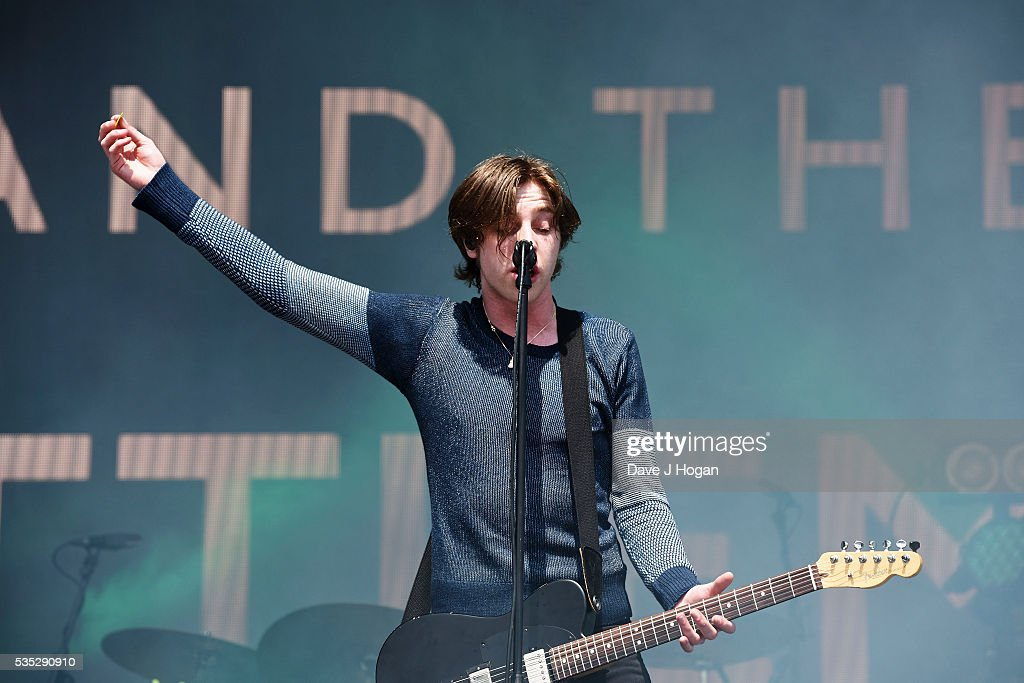 Ryan Evan McCann of Catfish And The Bottlemen performs during day 2 of BBC Radio 1's Big Weekend at Powderham Castle on May 29, 2016 in Exeter, England.
