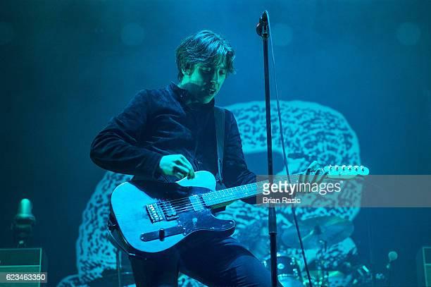 Ryan Evan 'Van' McCann of Catfish and the Bottlemen performs at Wembley Arena on November 15 2016 in London England