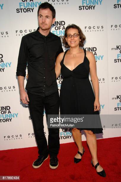 Ryan Fleck and Anna Boden attend Special Screening of IT'S KIND OF A FUNNY STORY Landmark's at Sunshine Cinema on September 14th 2010 in New York City