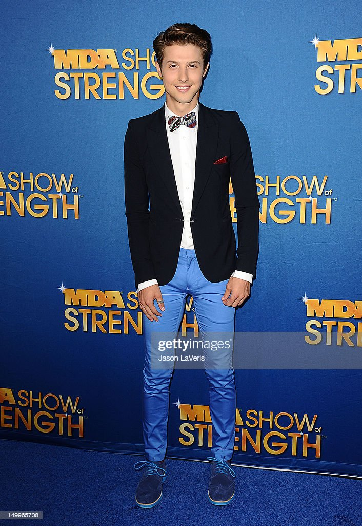 Ryan Follese of Hot Chelle Rae attends the MDA Labor Day Telethon at CBS Studios on August 7, 2012 in Los Angeles, California.