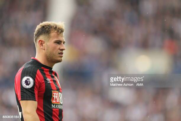 Ryan Fraser of AFC Bournemouth during the Premier League match between West Bromwich Albion and AFC Bournemouth at The Hawthorns on August 12 2017 in...