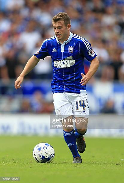 Ryan Fraser of Ipswich during the Sky Bet Championship match between Ipswich Town and Brighton and Hove Albion at Portman Road stadium on August 29...