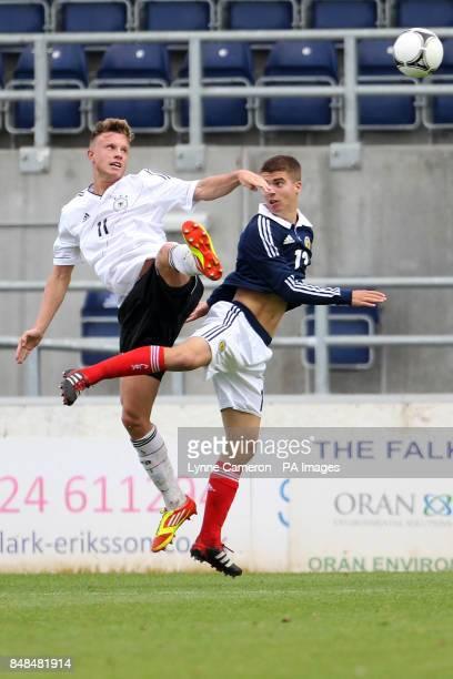 Ryan Fraser Scotland and Yannick Gerhardt Germany