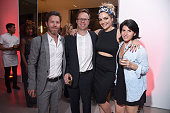Ryan Gall Craig Galvan and guests attend the 2016 Global Citizen Festival Launch Celebration at Cadillac House on July 26 2016 in New York City