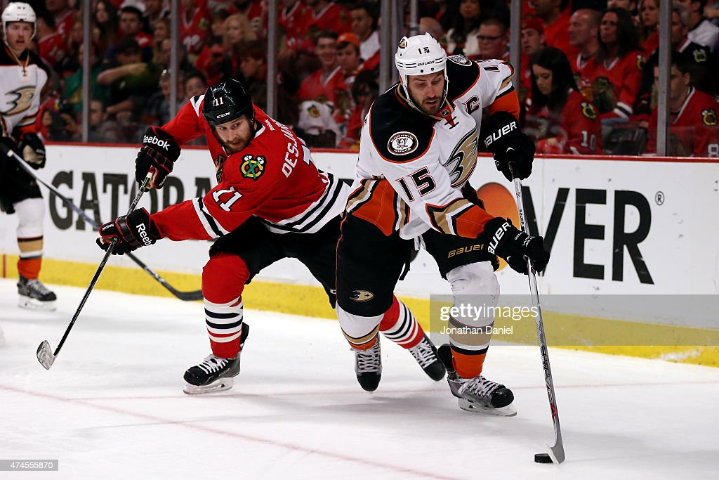 Anaheim Ducks v Chicago Blackhawks - Game Four