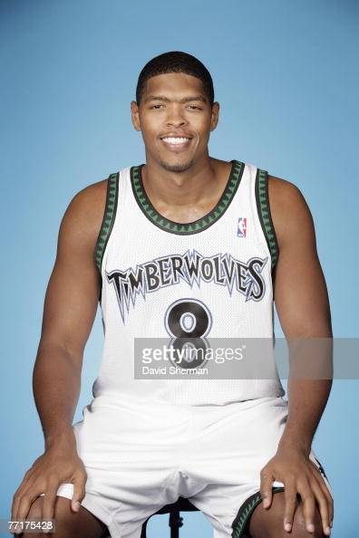Ryan Gomes of the Minnesota Timberwolves poses for a portrait during NBA Media Day at the Target Center on September 28 2007 in Minneapolis Minnesota...