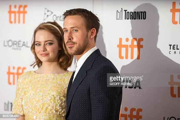 Ryan Gosling and Emma Stone arrive for the premiere of 'La La Land' at the Toronto International Film Festival in Toronto Ontario September 12 2016 /...