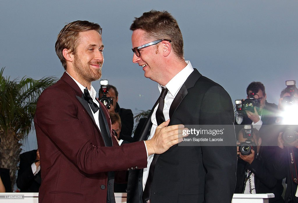 Ryan Gosling and Nicolas Winding Refn attend the Palme D'Or Winners Photocall at the 64th Annual Cannes Film Festival at Palais des Festivals on May 22, 2011 in Cannes, France.